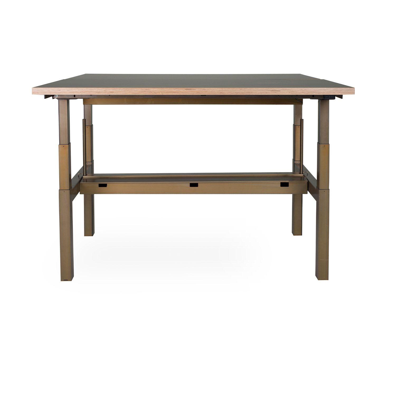 lensvelt sitstand duo office desk