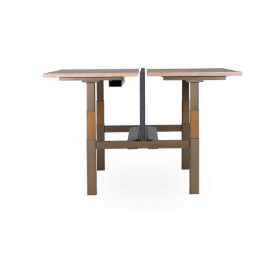 Lensvelt Sit-stand Duo Office Desk