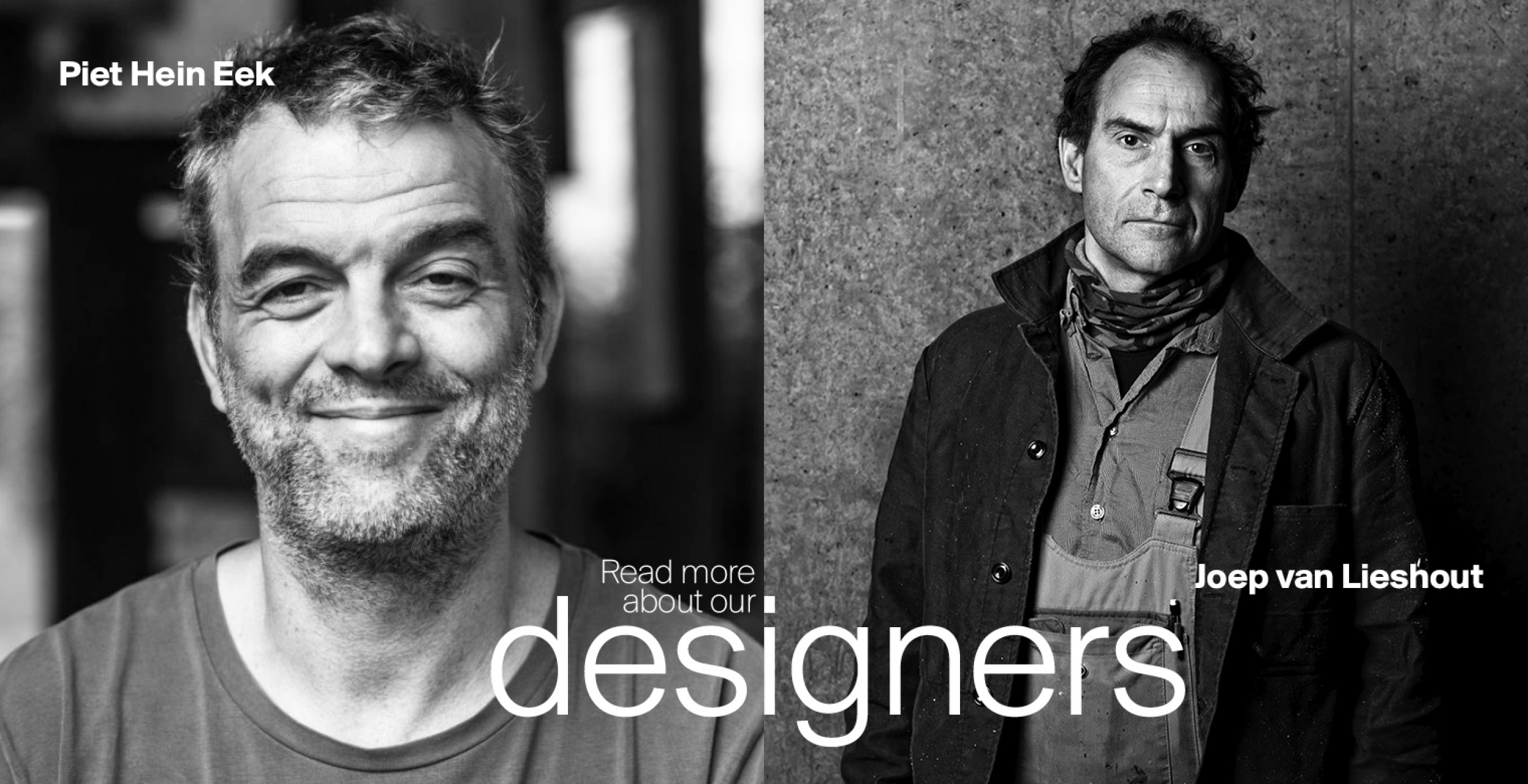 Read more about our designers